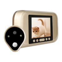 New 720P HD Video 1.3.2 Inch LCD Electronic Door Bell Digital Peephole Viewer Door Camera Doorbell Home Security Mini Camera