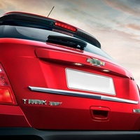Automobile Trunk Exterior Fashion Modification Mouldings Parts Trim Covers Car Styling Accessory FOR Chevrolet Traxes