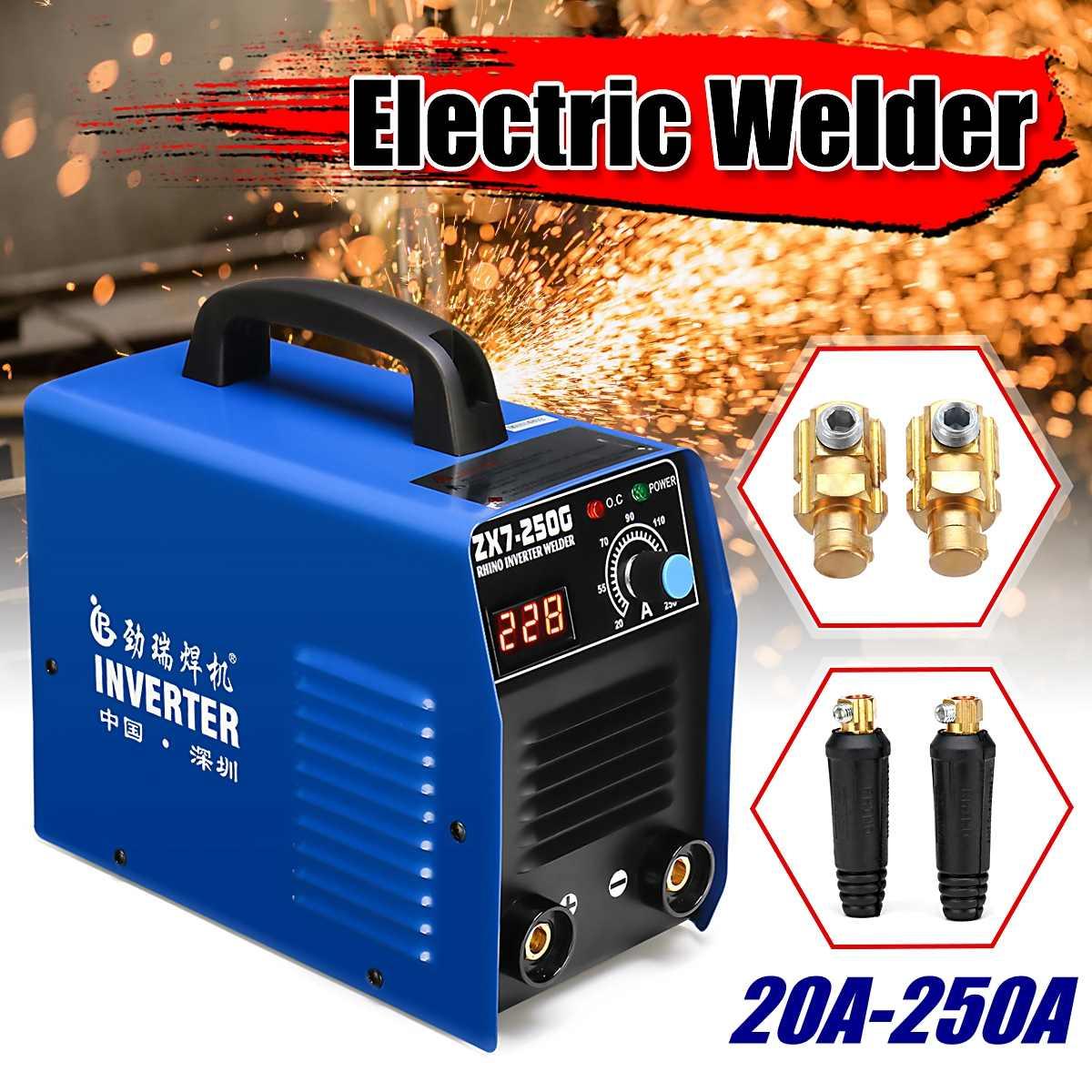 ZX7 20-250A Arc Welder máquina de Soldadura Do Inversor MMA ARC IGBT máquina de soldadura Fácil eletrodo de solda Soldador Arco