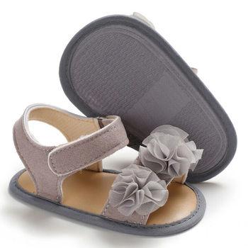 Sepatu Sandal Anak Model Bunga  4