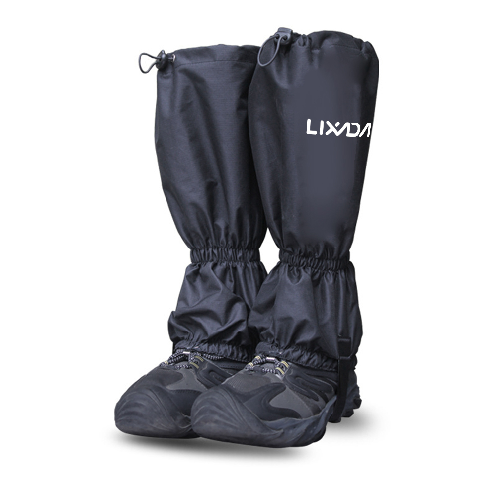 Outdoor Hiking Boot Gaiters Waterproof Snow Leg Shoes Cover Hunting Climbing UK