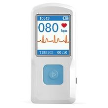 CONTEC Portable ECG EKG Machine Heart rate monitor Electrocardiograph ECG Monitor Handheld Heart Machine Baby Heart Monitor цена