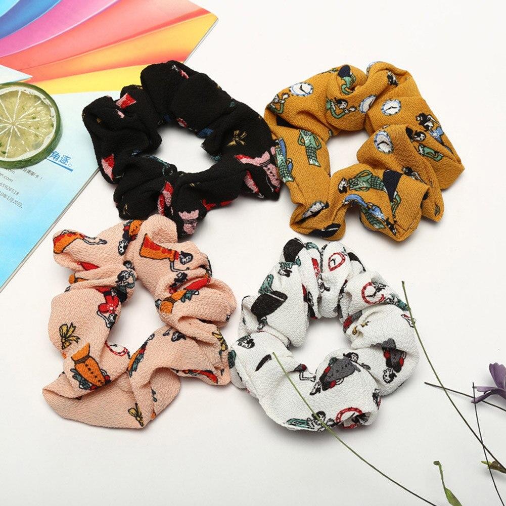 Filles Flamant fashion élastique cheveux Cravate Bande Anneau Corde Queue de Cheval Titulaire Chouchou