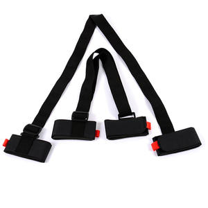 Straps Hand-Carrier Lash-Handle Protecting Skiing-Pole Shoulder Porter Hook Loop Adjustable
