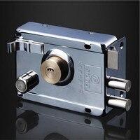 أقفال باب حديدية خارجية قفل أمان مضاد للسرقة قفل تأمين متعدد قفل باب خشبي للأجهزة والأثاث