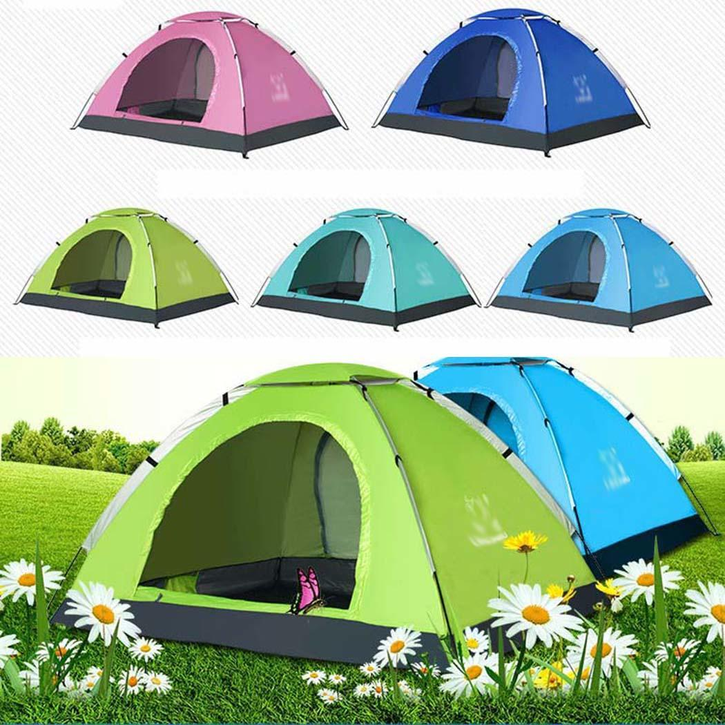 3-4 Person Camping Tent Ultralight Single Layer Waterproof Outdoor Tent for Hiking Traveling3-4 Person Camping Tent Ultralight Single Layer Waterproof Outdoor Tent for Hiking Traveling