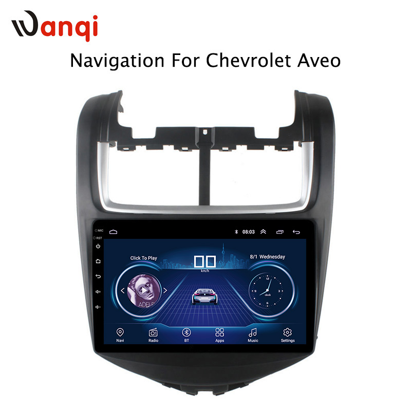 9 Inch Factory Price Android 81 Car Dvd Player For Chevrolet Aveo