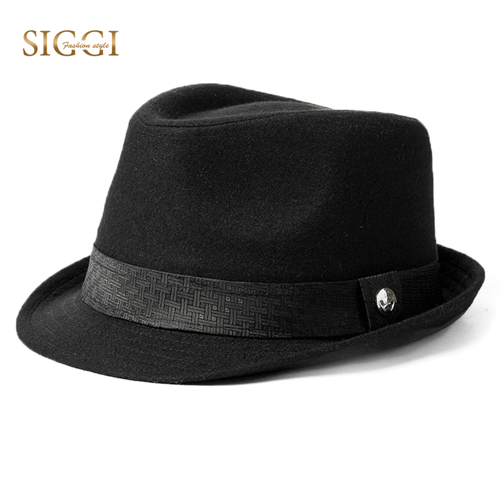 FANCET Derby Hats Fedoras Homburg 1920s Wool Gangstar Fashion Solid Soft Unisex Men 68203 title=