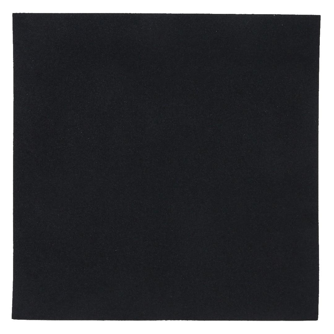 3mm/5mm/10mm Black High Density Foam Anti Static Pin Insertion Soundproofing Foam Sound-Absorbing Noise Sponge Foam 20X20cm