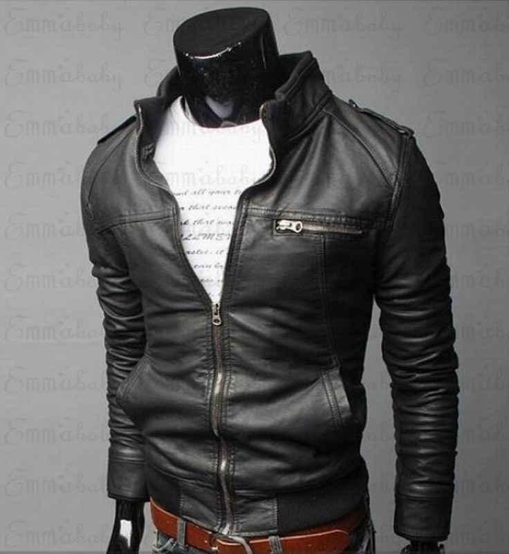 Męskie kurtki skórzane męska kurtka wysokiej jakości klasyczny w kształcie motocykla rower kowbojskie kurtki męskie Plus grube płaszcze M-3XL