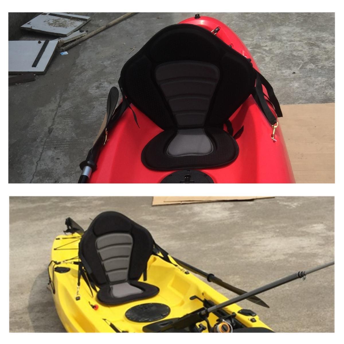 Camping en plein air Sports nautiques bateau siège délires rembourré coussin aviron bateau dossier pêche bateau Kayak accessoires doux antidérapant