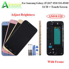 Alesser For Samsung Galaxy J5 2017 J530 SM-J530F LCD Display And Touch Screen +Frame Amoled Replacement Adjust Brightness +Tool - DISCOUNT ITEM  19% OFF Cellphones & Telecommunications