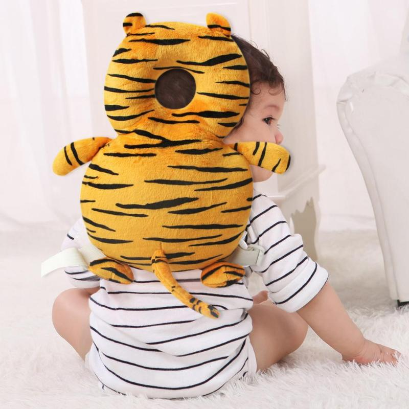Baby Pillow Newborn Baby Head Protector Pillow Toddlers Headrest Neck Safe Pad Backpack Cushion Anti Roll Baby Bedding Mat Cute