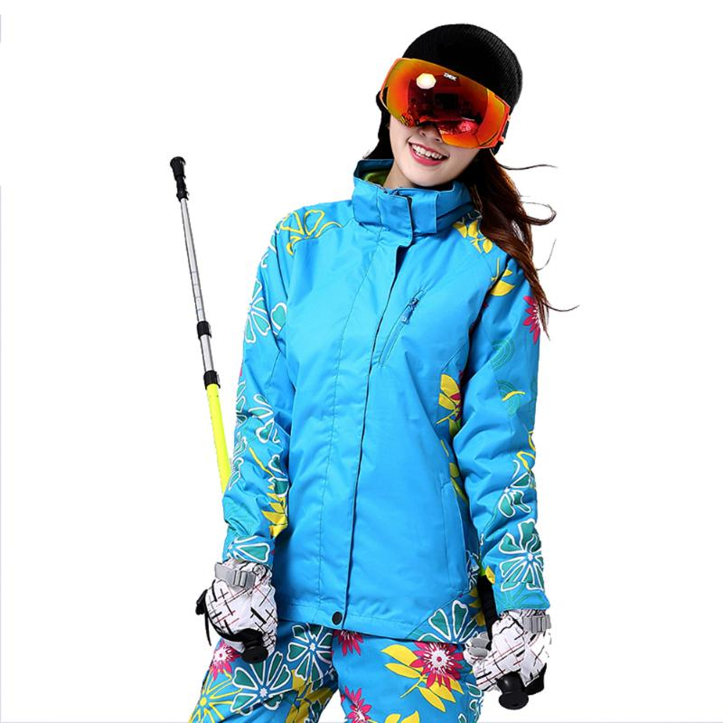Coat Jacket Hiking-Skiing-Clothes Female Waterproof Double-Layer Winter Women Warm Outdoor