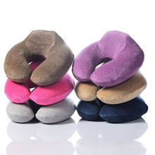 U -shape Memory Foam Kisses Travel Portable Car Kisses Necklace Head Support Kisses Soft Nursing Kisses цена