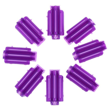 45pcs/bag Hair Clip Wave Perm Rod Bars Corn Curler DIY Fluffy Clamps Rollers Roots Styling Tool