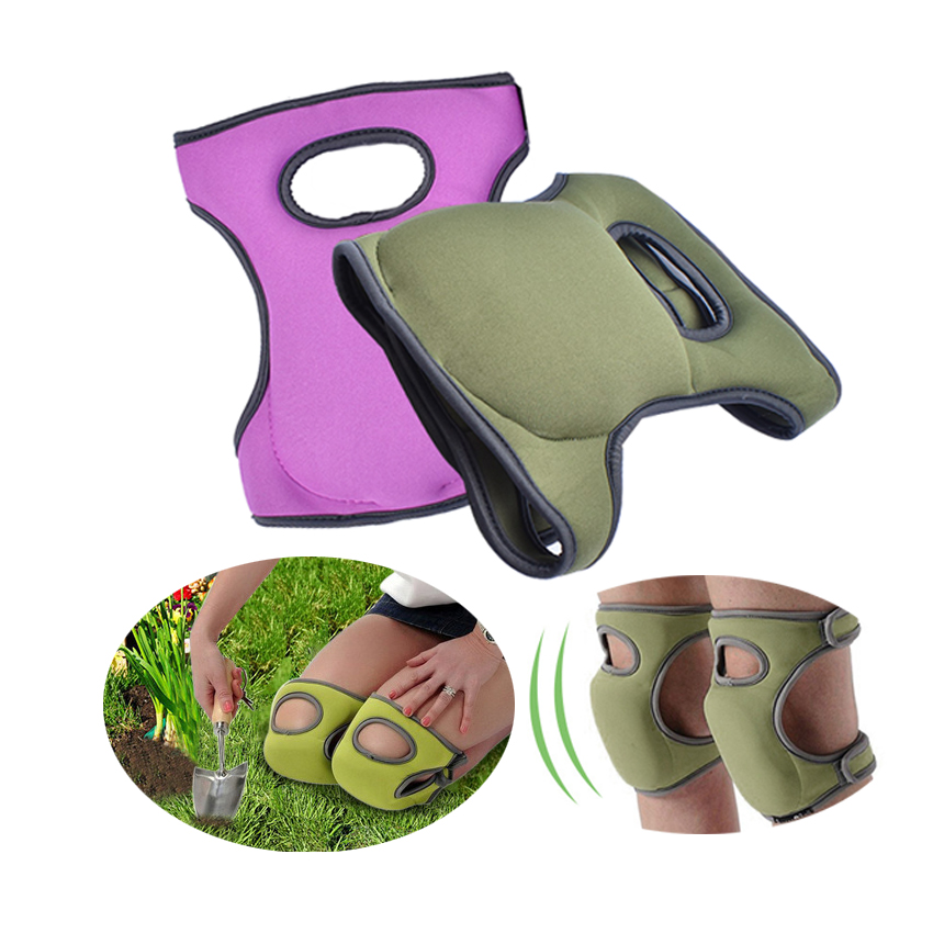 1Pair Flexible and Water resistant Gardening Knee pads to Protect Knees from Heavy Duty Work in Garden and Industry with Ultra Cushion Foam