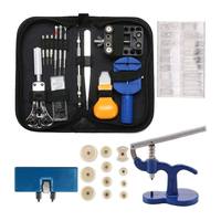 Professional Watch Repair Tool Set 499 pcs Watch Tools Watch Case Press Tool with 12 Plastic Insert Pressing Plates Watch Re