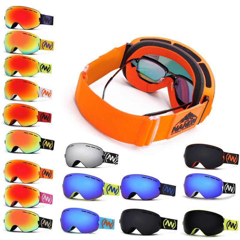 Lunettes de Ski nouveau Anti-buée grand masque de Ski lunettes Ski hommes femmes neige Snowboard lunettes