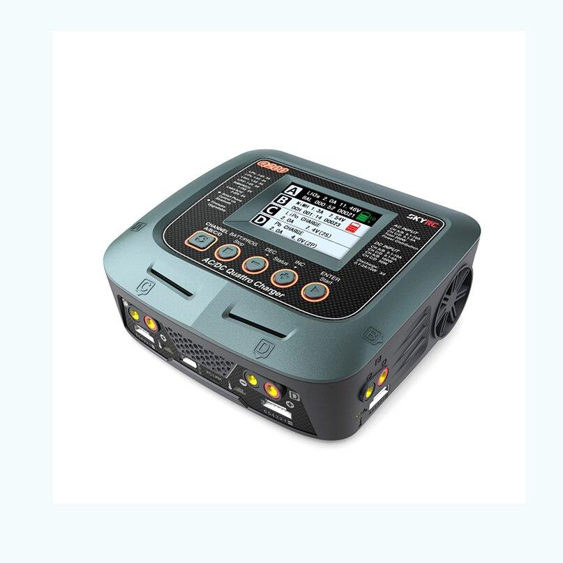SKYRC Q200 1 à 4 chargeur Intelligent/déchargeur AC/DC chargeur d'équilibre de Drone pour Lipo/LiHV/Lithium-fer/Ion/NiMH/NiCD/plomb-acide