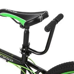 Kids Bicycle Armrest Handle Back Seat Mat Armrest Safety Chair Armrest for Kids Bicycle Mtb Folding Bike Rear Saddle Handlebar