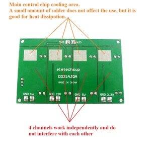 Image 4 - 3A 4 채널 다중 스위칭 전원 공급 장치 모듈 3.3V 5V 12V ADJ 가변 출력 DC DC 스텝 다운 벅 컨버터 보드