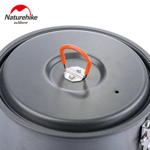 Image 3 - Naturehike Portable Picnic Barbecue Outdoor Camping Pot Cookware For Free Accessories 2 Outdoor Bowls 1 Spoon