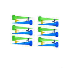 12pcs Automatic Watering Spikes System Drip Bottle Garden Home Plant Pot Watering Irrigation Kits