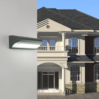 Foco Porch Light LED Exterior Wall Lamp 30W AC85 265V Pure Aluminum Waterproof Aisle Courtyard Lamps Outdoor Lighting