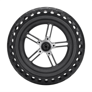 Image 1 - 8.5 Inch Damping Solid Tyres Hollow Non Pneumatic Wheel Hub And Explosion Proof Tire Set For Xiaomi Mijia M365 Electric Scoote