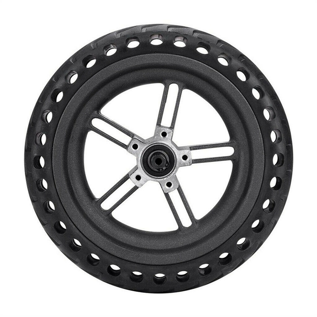 8.5 Inch Damping Solid Tyres Hollow Non Pneumatic Wheel Hub And Explosion Proof Tire Set For Xiaomi Mijia M365 Electric Scoote