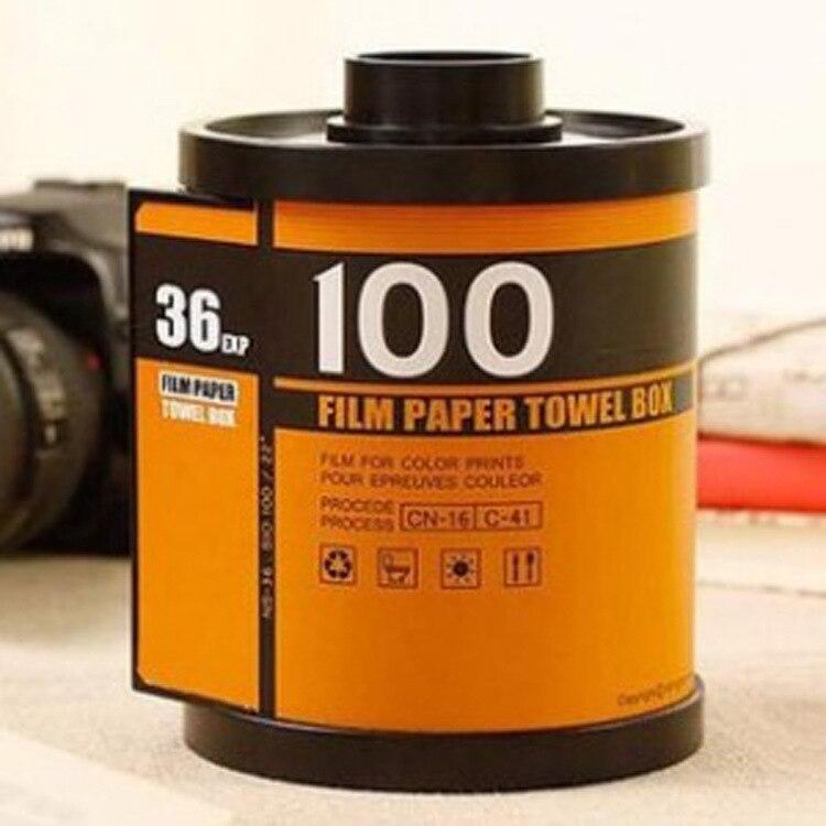 Toilet Paper Case Canister Towel Box paper roll holder Film Dispenser Tissue Holder