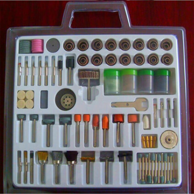 216pcs/set Rotary Power Tool Kits Wood Metal Grinding Bit Set Rotary Grinding Sanding Polishing Electric Tool Accessories Kit