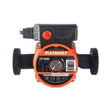 Насос циркуляционный PATRIOT CP 3240 (Мощность 85Вт, максимальное давление 10 бар, производительность 50 л/мин, максимальный напор 4 м)