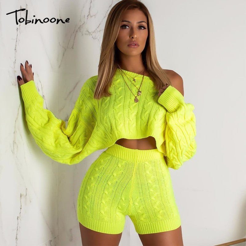 Tobinoone knitted sexy   Jumpsuit   women fashion long sleeve playsuit 2018 Autumn winter casual sweater   jumpsuit   romper women
