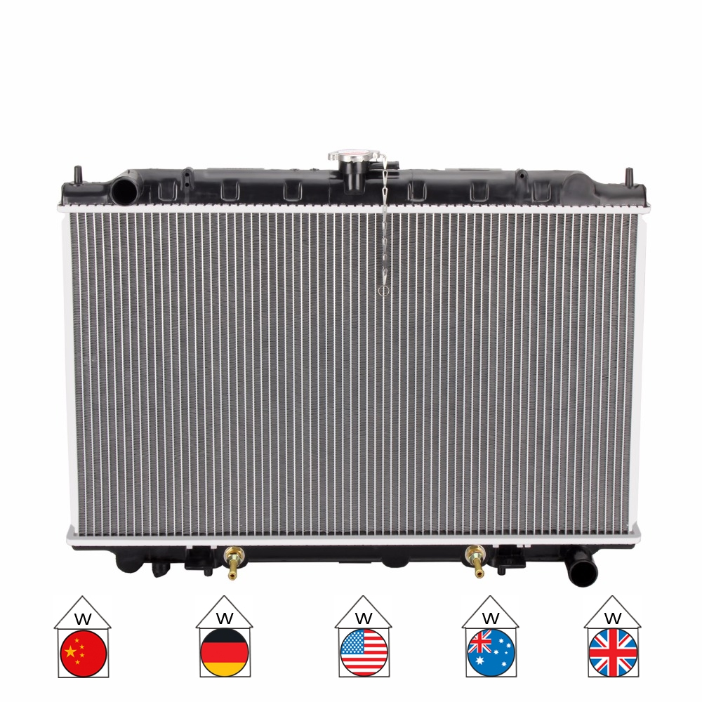 hight resolution of car premium radiator for nissan maxima 98 a32 at a33 series 4dr 1995 2003 auto manual 21460 31u10 21460 il017