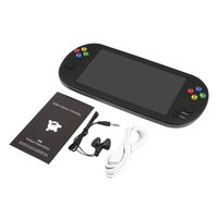 7 Inch Portable Game Console Built in 8G memory Handheld Game Player Retro Console TV OUT Support CPS/GBA/MD/FC/GB/GBC