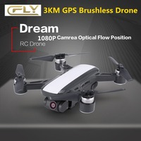 Cfly Dream Gps Rc Дрон бесщеточный FPV Quacopter дроны 1080 p Hd камера 5 г большой радиус Wi Fi Rc Дрон следуй за мной Rc Квадрокоптер
