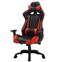 EU EU ropean Plastic Gaming Artificial Study Customized Comfortable Lift Game Computer Chair RU