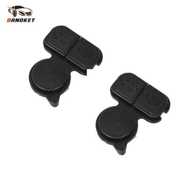 Dandkey 2pcs 3 Buttons Remote Fob Key Buttons Repair Pad For BMW Car For BMW Series 3 5 7 E38 E39 E36 Z3 Z4 Z8 X3 X5 image