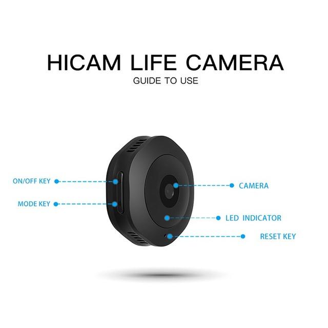 H6 DV/Wifi Mini ip camera outdoor Night Version Micro Camera Camcorder Voice Video Recorder security hd wireless Small camera
