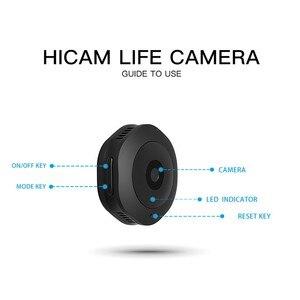 Image 2 - Mini caméra de surveillance extérieure ip Wifi H6, dispositif de sécurité sans fil hd, avec résolution nocturne, enregistrement vocal et vidéo