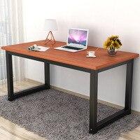 120x60x74 см офисный настольный компьютер стол для домашего обеденного стола простой современный обучающий стол деревянный верстак Защита окр