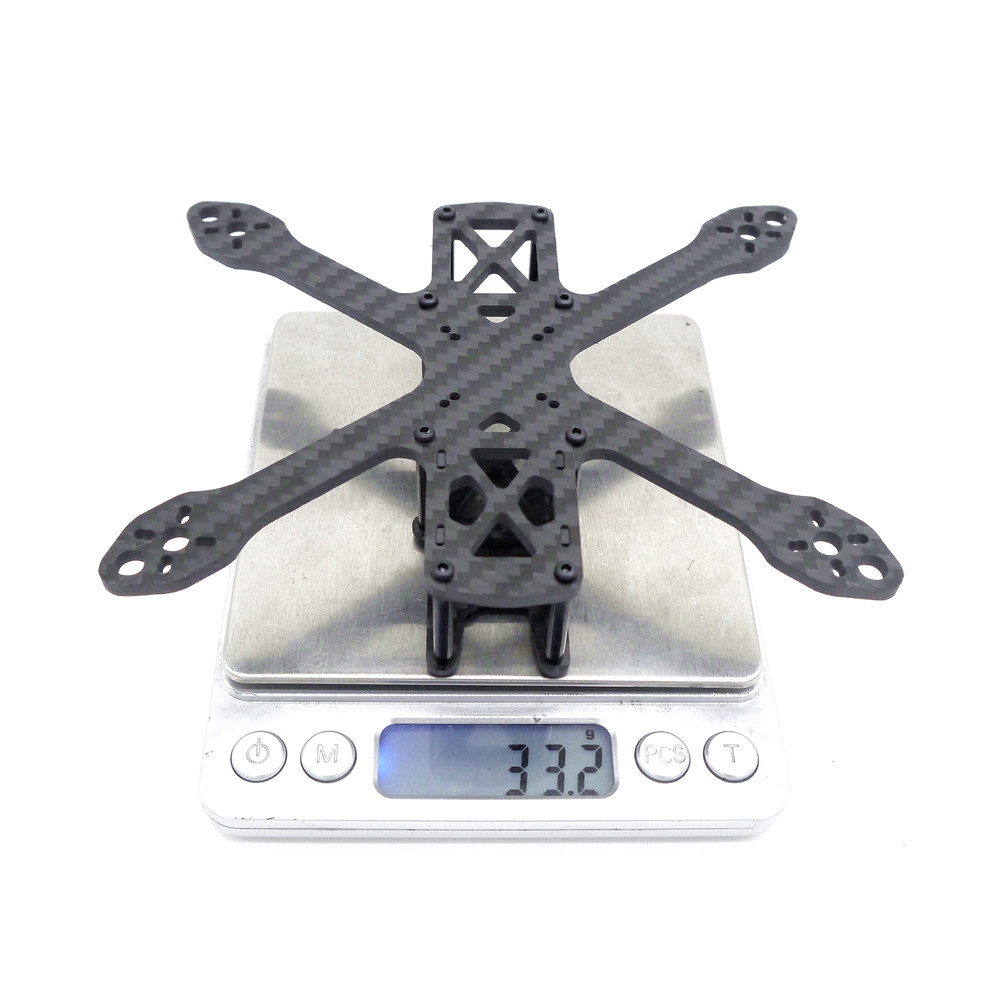 US $14 99 |In Stock Sirians 3 Inch 135mm Wheelbase 3mm Arm Carbon Fiber  Frame Kit For RC Drone FPV Quadcopter Multicopter Part Accessories-in Parts  &