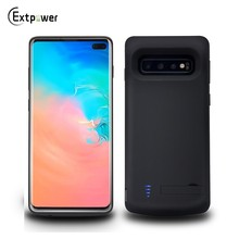 For Samsung Galaxy S10e S10 Plus S10plus Battery Case 6000mAh External Portable Charging Power Bank With Kickstand Backup Cover