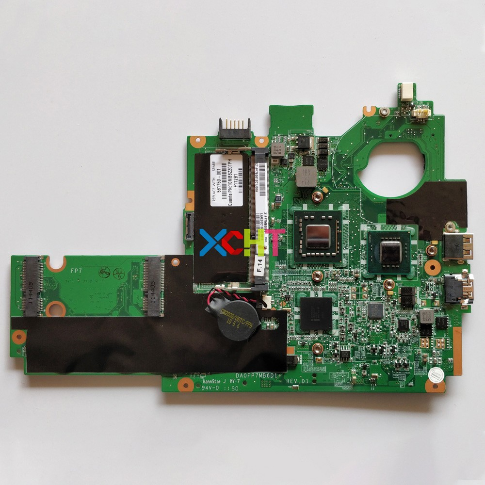581750-001 DA0FP7MB6D1 SU2300 for HP Pavilion DM DM1-1000 Series Laptop Notebook Motherboard Mainboard Tested & working perfect581750-001 DA0FP7MB6D1 SU2300 for HP Pavilion DM DM1-1000 Series Laptop Notebook Motherboard Mainboard Tested & working perfect