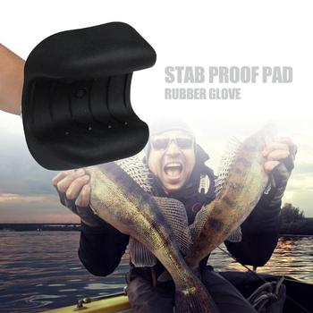 Non-slip Winter Fishing Gloves Pesca Catching Hunting Rubber Fishing Glove Hand Protection Grip Fishing Tackle Stab Proof Pad