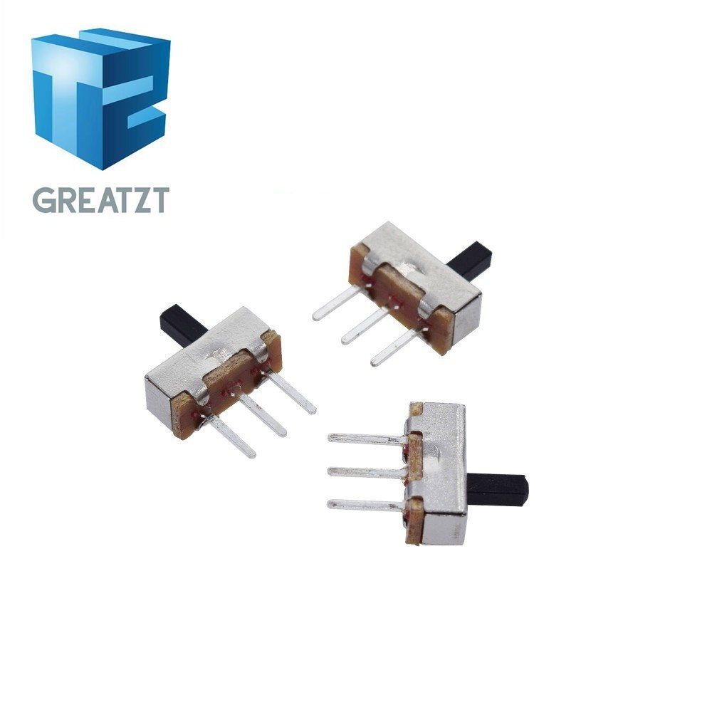 20pcs Mini Slide Switch On-OFF 2Position Micro Slide Toggle Switch SMD Gy