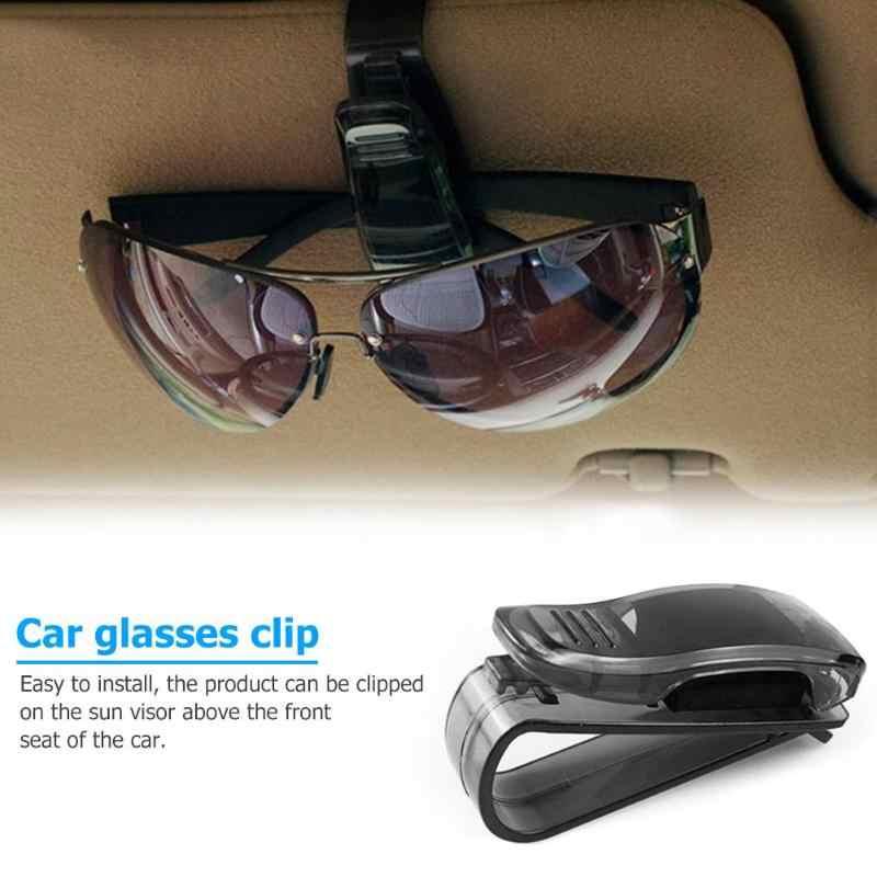 Kính mát Kệ Clip Cap Xe Sun Visor Kính Sunglasses Ticket Nhận Được Thẻ Clip Lưu Trữ Chủ 6.7x3.1x2.5 cm