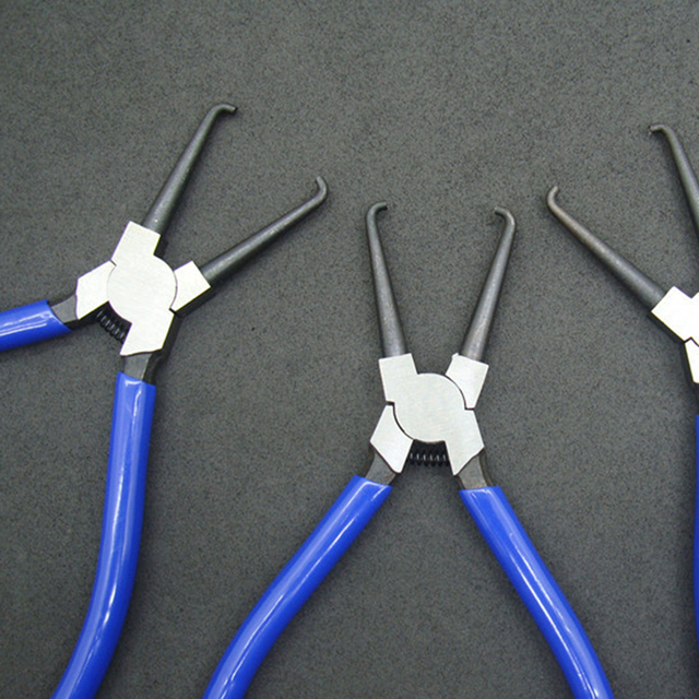 1pc High Quality Joint Clamping Pliers Fuel Filters Hose Pipe Buckle Removal Caliper Fits For Car Auto Vehicle Tools Mayitr 3